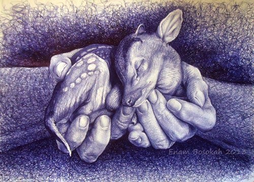 07-Life-Portrayed-by-a-Ballpoint-Pen-Enam Bosokah-www-designstack-co