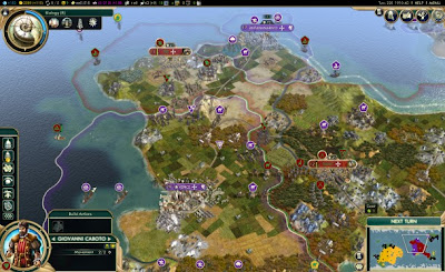 Sid Meier's Civilization 5 Brave New World Map