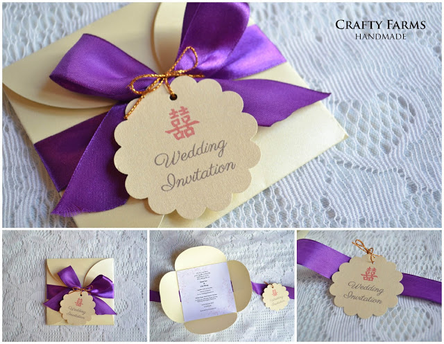Wedding card malaysia crafty farms handmade royal theme petal pochette petal fold invitation cards are an elegant way to unveil the details of your event in this card ive also illustrated a map stopboris Gallery