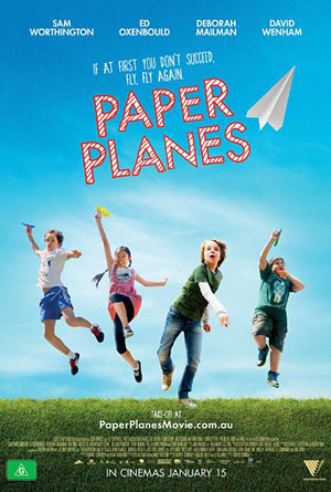 Poster Paper Planes 2014