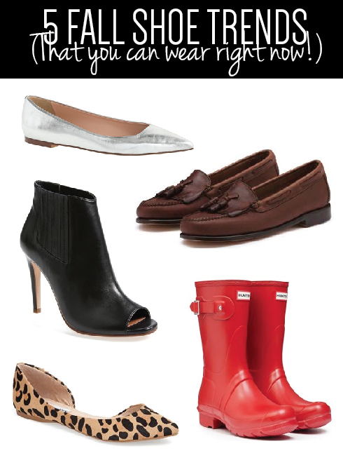 five fall shoes you can wear right now, 5 fall shoes you can wear right now, fall fashion,