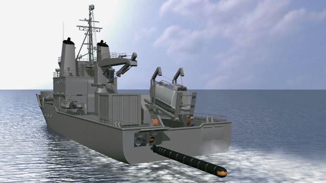 Purpose-built SeaHake mod4 ER torpedo launch vessel