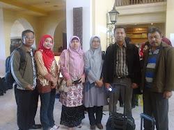 dengan teman2 dari RSJ Mataram NTB dan RSKO Jakarta