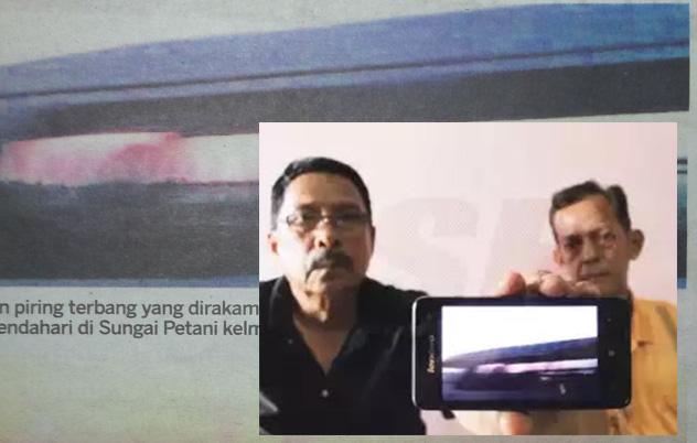 Pengawal Keselamatan Dakwa Berjaya Rakam UFO di Kedah