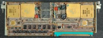 IBM A-101: Placa electrónica