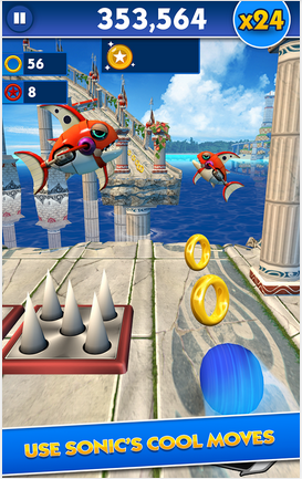 Download Sonic Dash v2.2.0.Go - Mod Money APK + DATA