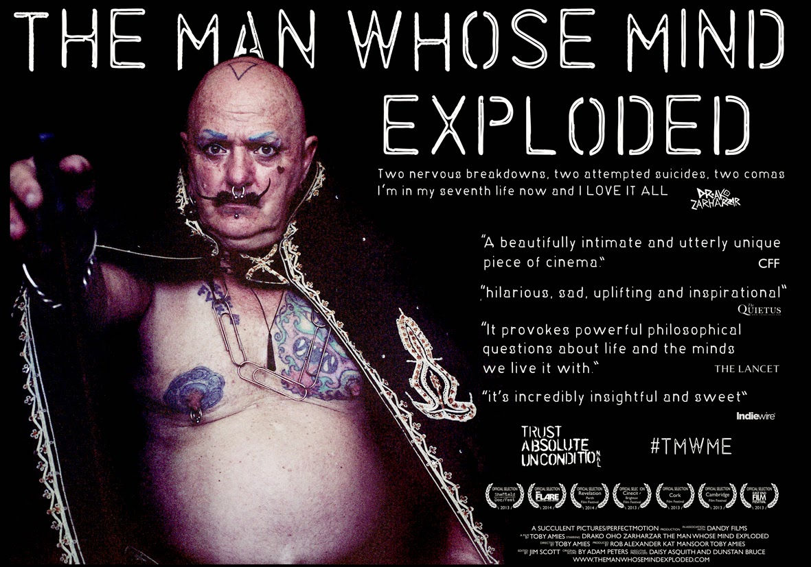The Man Whose Mind Exploded poster