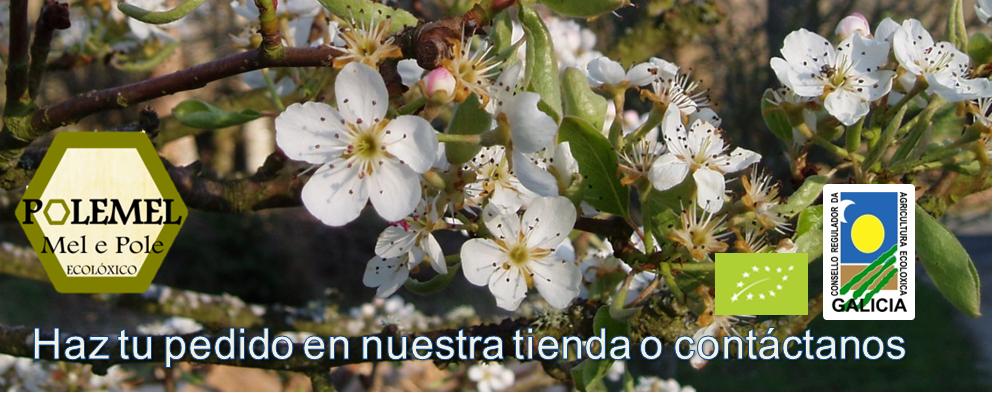 Miel ecológica y polen ecológico Polemel