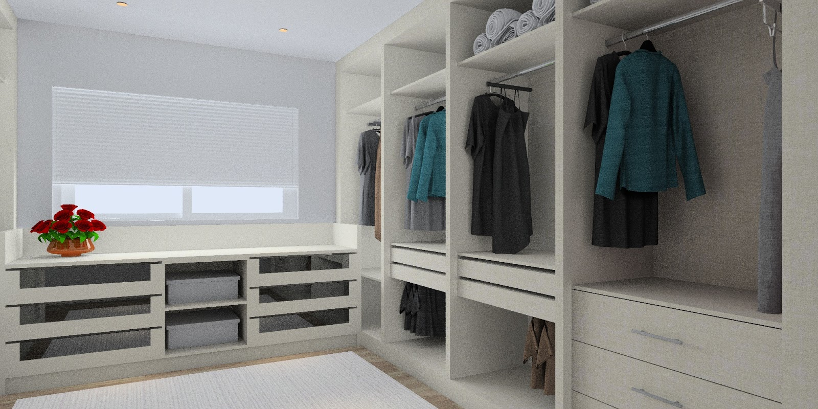 Simple dry kitchen design - The Living Hall To Dry Kitchen Area