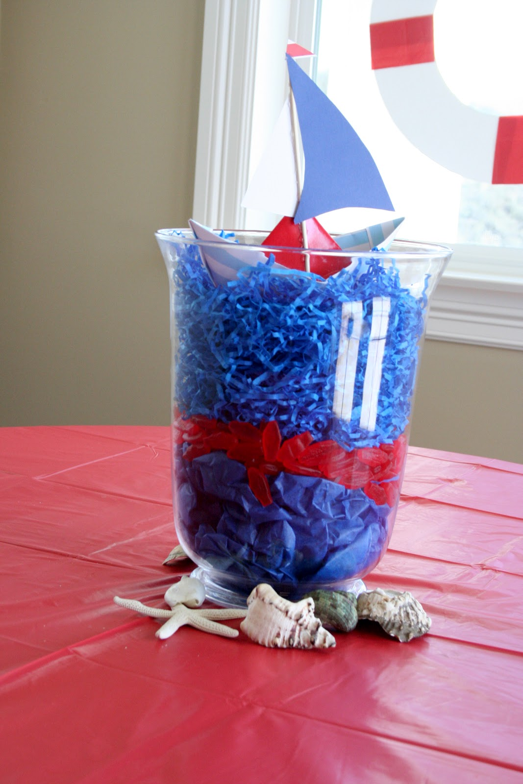 nautical party centerpieces