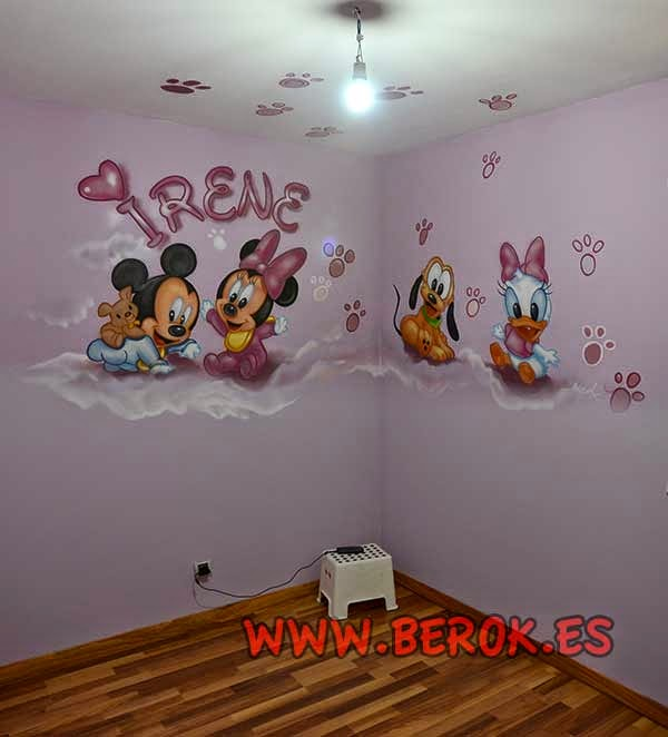 Murales decorativos infantiles Barcelona