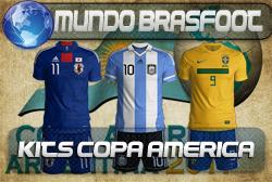 Camisas da Copa América 2011 - Brasfoot 2011