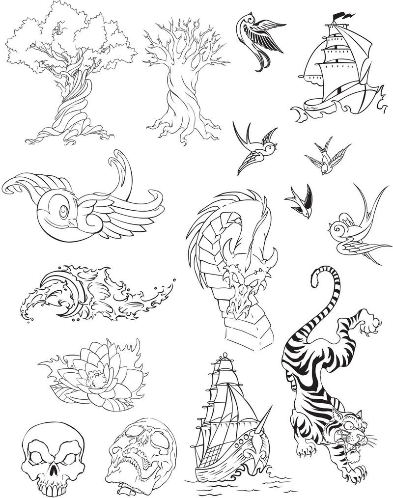 Greats Amazing Tatto Vector