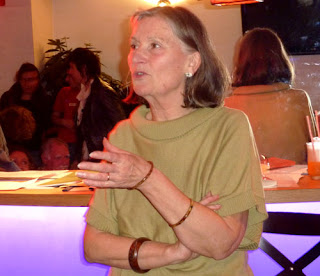Elyane Rejony, poète, à Montpellier
