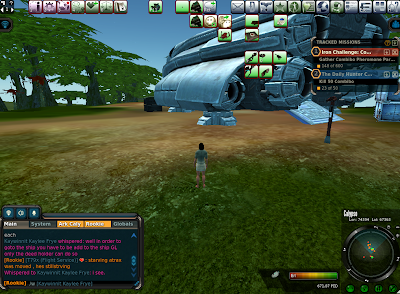 Entropia Universe - Game Interface 2014