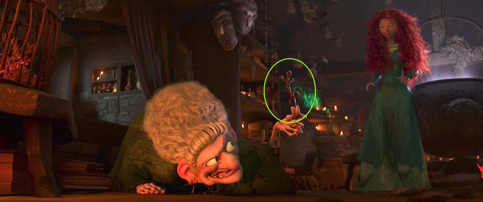 Hidden Items in Brave - The Pixar Ball & A113 | Pixar Post