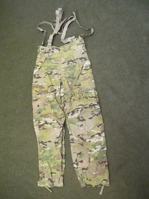 US ARMY MULTICAM COLD WEATHER SOFT SHELL TROUSERS