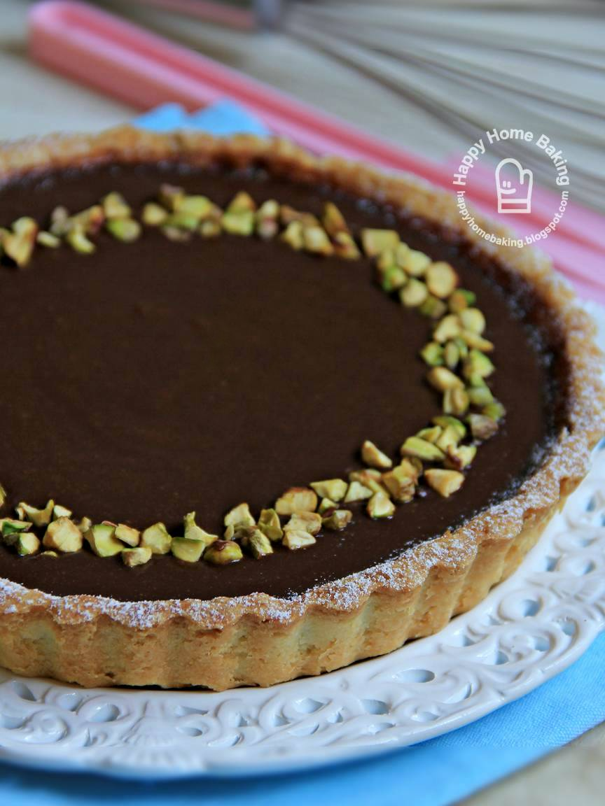 Happy Home Baking: Simple Chocolate Tart