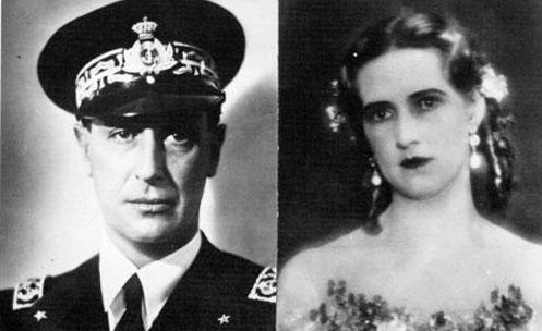 Aimone de Savoie-Aoste et Irene de Grèce et de Danemark