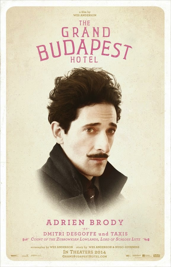 the grand budapest hotel adrien brody