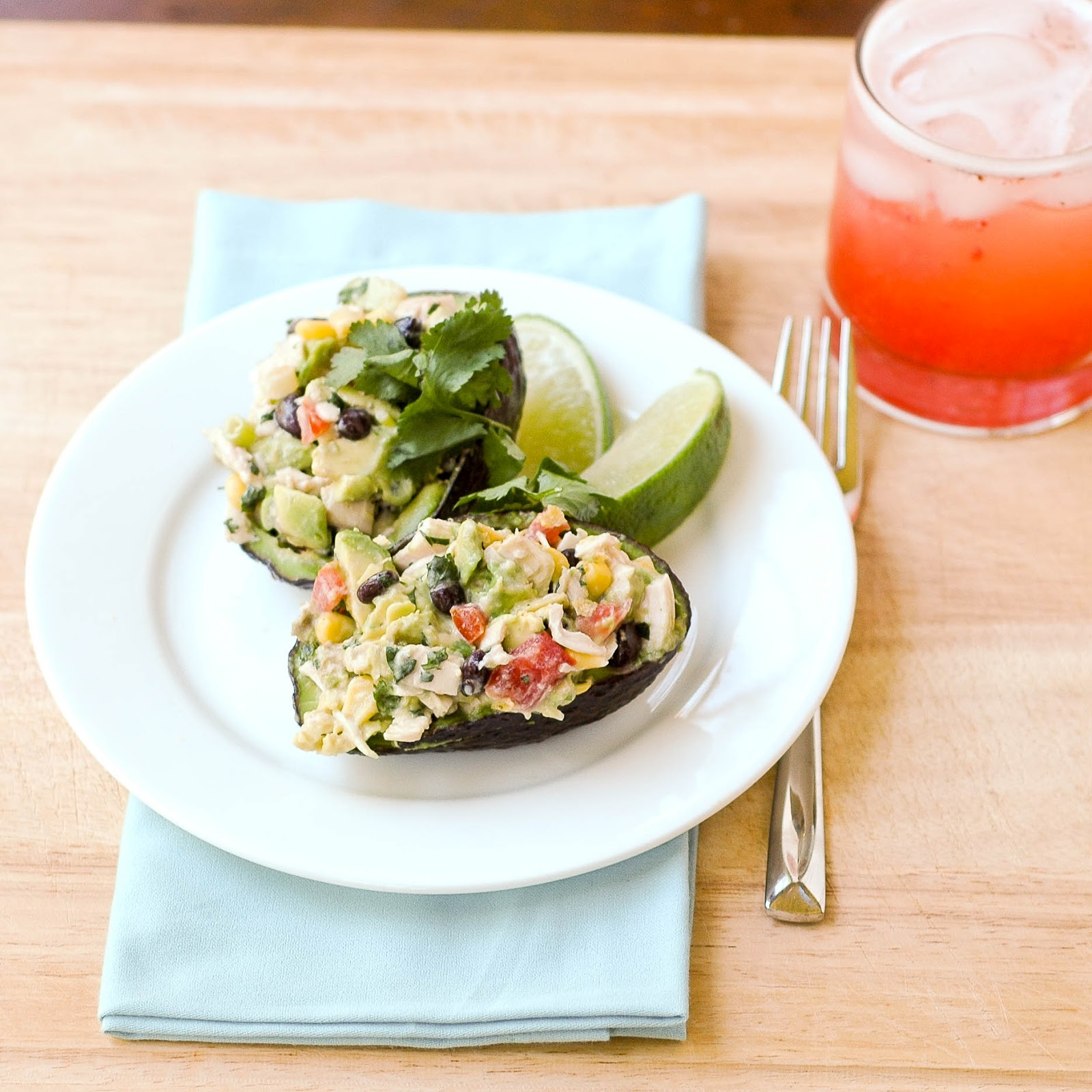 Good Thymes and Good Food: Southwest Avocado Chicken Salad