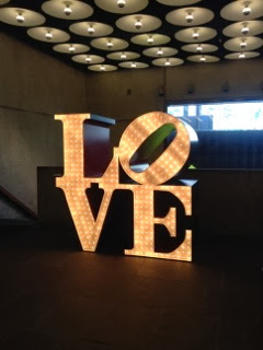 Robert Indiana LOVE monument