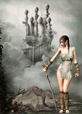 Princesa guerrera y el dragón caído - Warrior princess