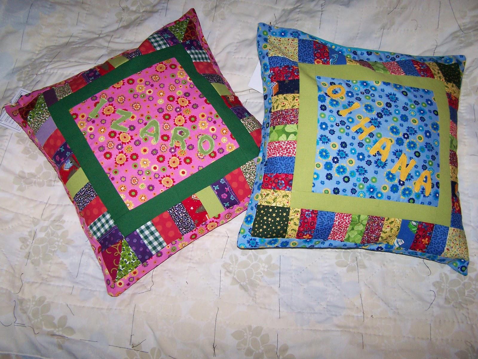 La petite maison de patchwork cojines infantiles personalizados - Cojines de patchwork ...