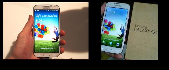 Samsung Galaxy S4 asli & palsu