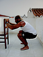bodyweight squat progression