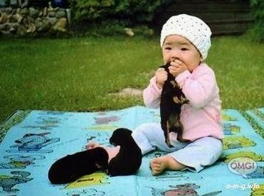Foto Anak Lucu Aneh