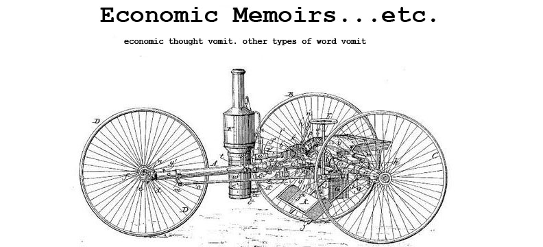 Economic Memoirs... etc.