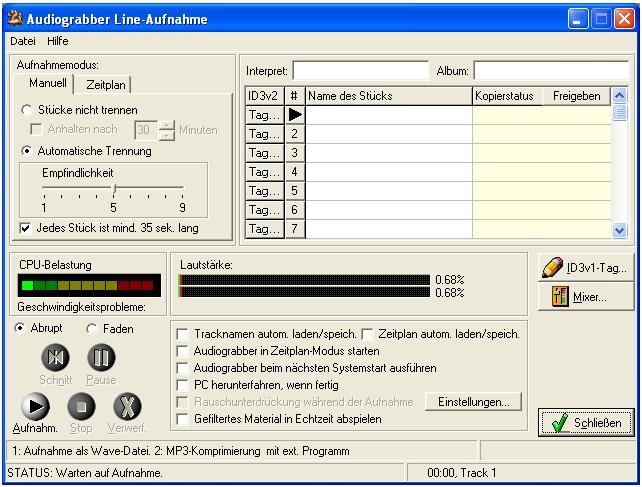 Download Audiograbber 1.83