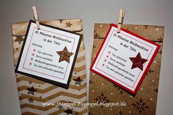 stempel exempel 15 minuten weihnachten in der t te. Black Bedroom Furniture Sets. Home Design Ideas