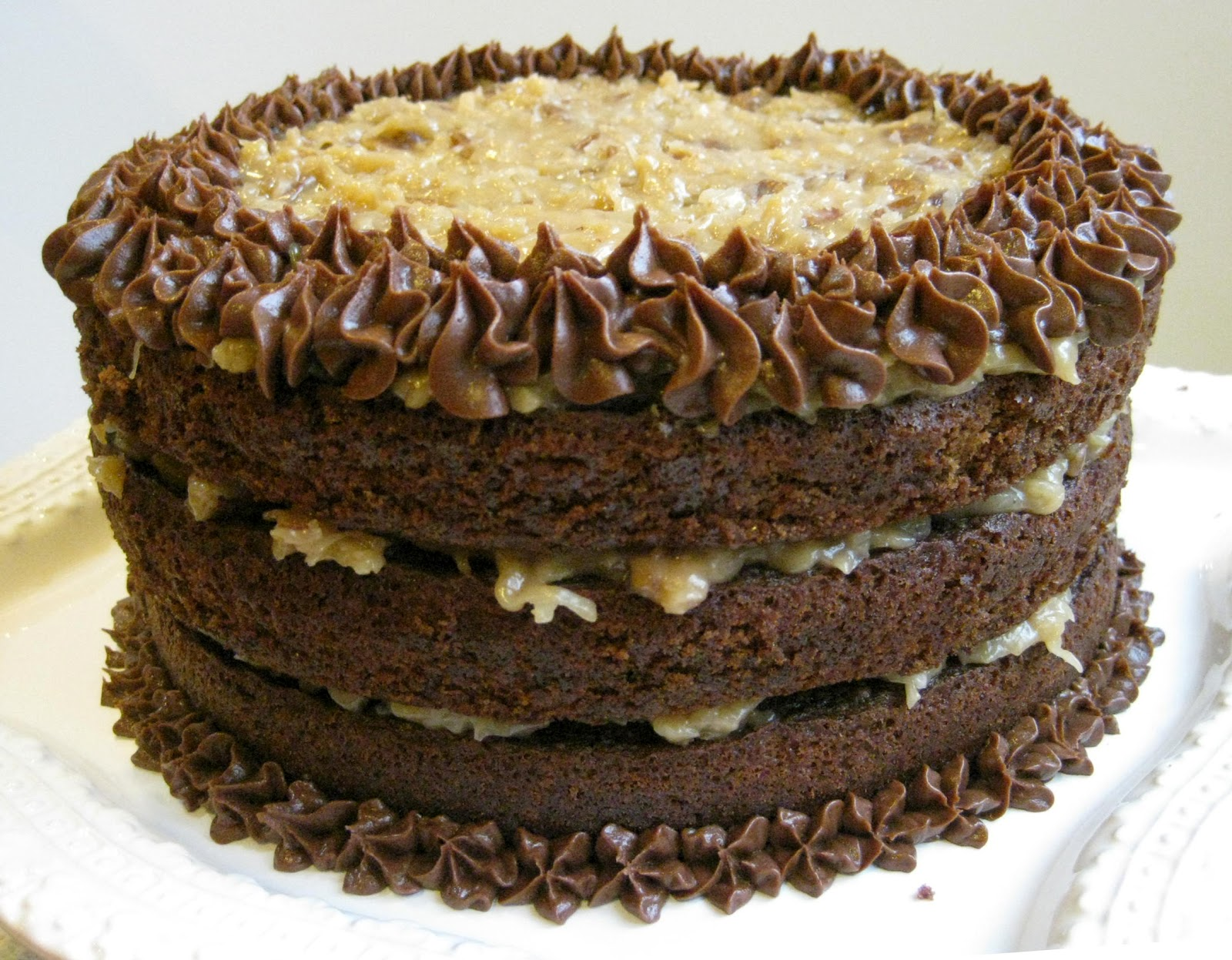 Everyday Insanity...: German Chocolate Cake