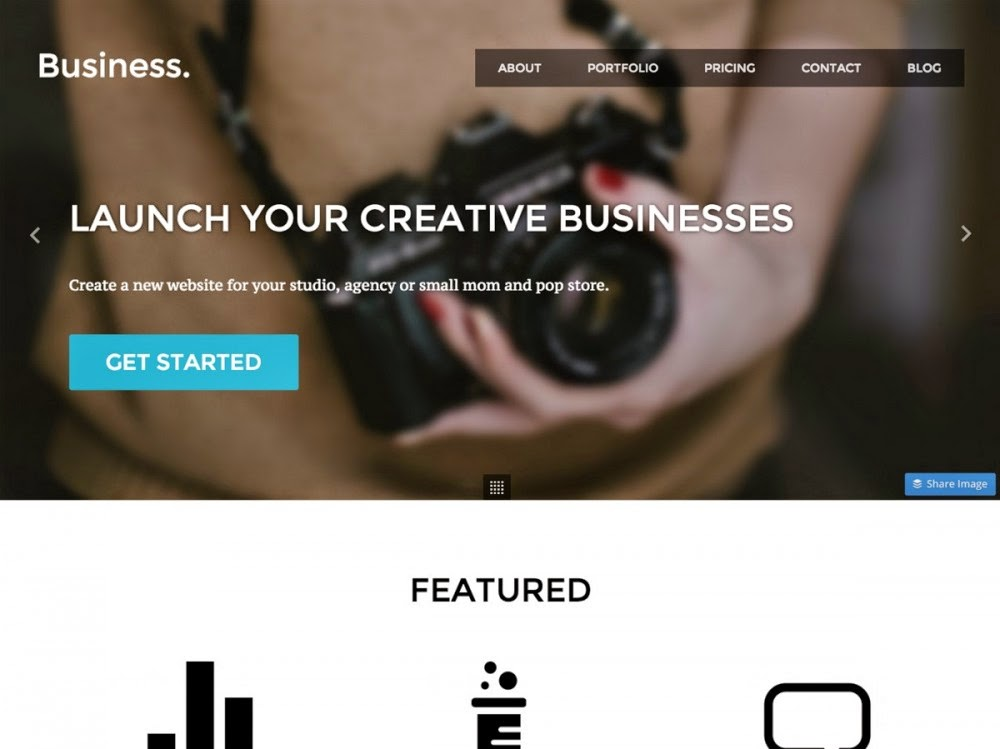 Download Business - Free Responsive Wordpress Portfolio Themes 2015