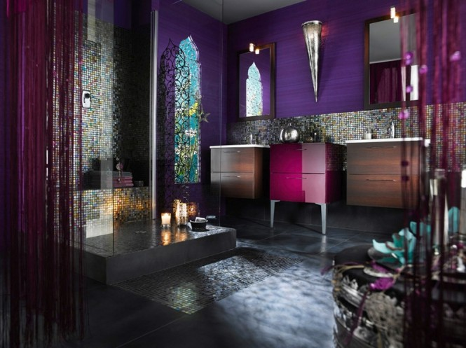 Baños Estilo Marroqui:Moroccan Bathroom Design Ideas