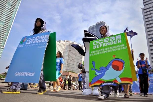 Greenpeace Serukan Agenda Pemulihan Laut
