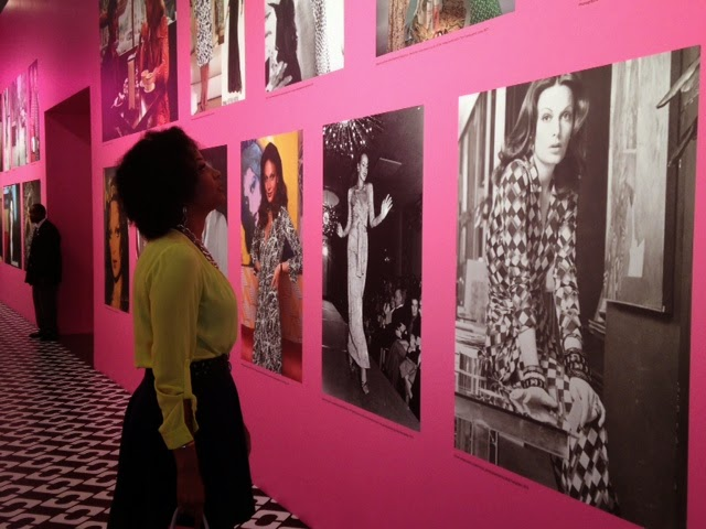 Leah Frazier Dallas Fashion Blogger Beauty4Ashes DVF Diane Von Furstenberg Journey of a Dress Exhibit LACMA