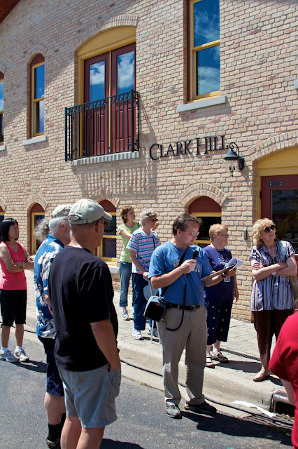 Historical Society of Greater Lansing - Old Town Walking Tour. Tammy Sue Allen Photography.
