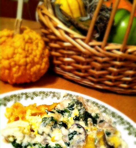 Head In The Clouds Butternut Squash Lasagna With