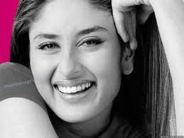 Kareena smiling