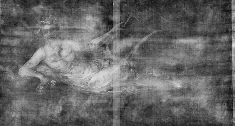 radiografia del oleo de goya