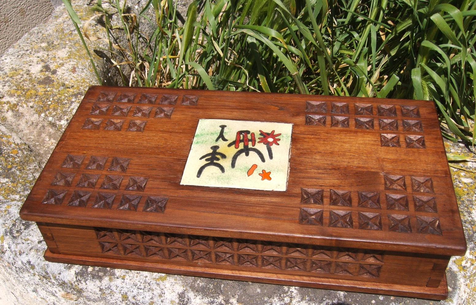 Madera y esmalte piezas que a nan dos formas de trabajar - Esmalte para madera ...
