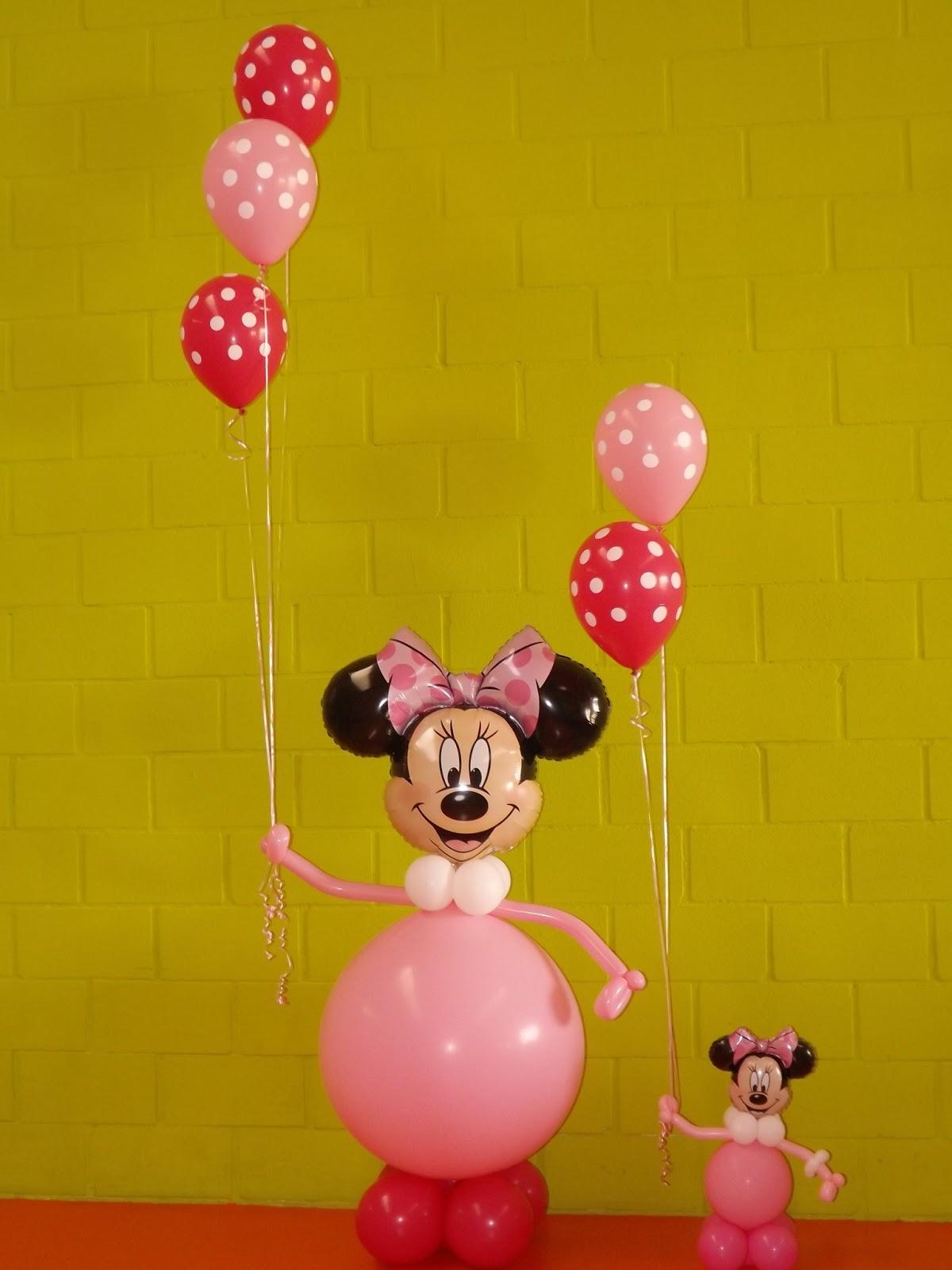 Decoraciones d 39 globos cumple minnie 5 a os d 39 globos - Cumple 2 anos decoracion ...