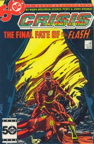 Crisis on Infinite Earths #8 comic cover