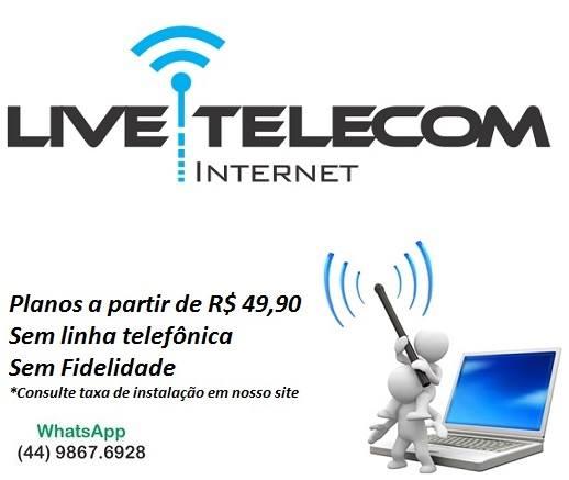 Não fique sem internet!