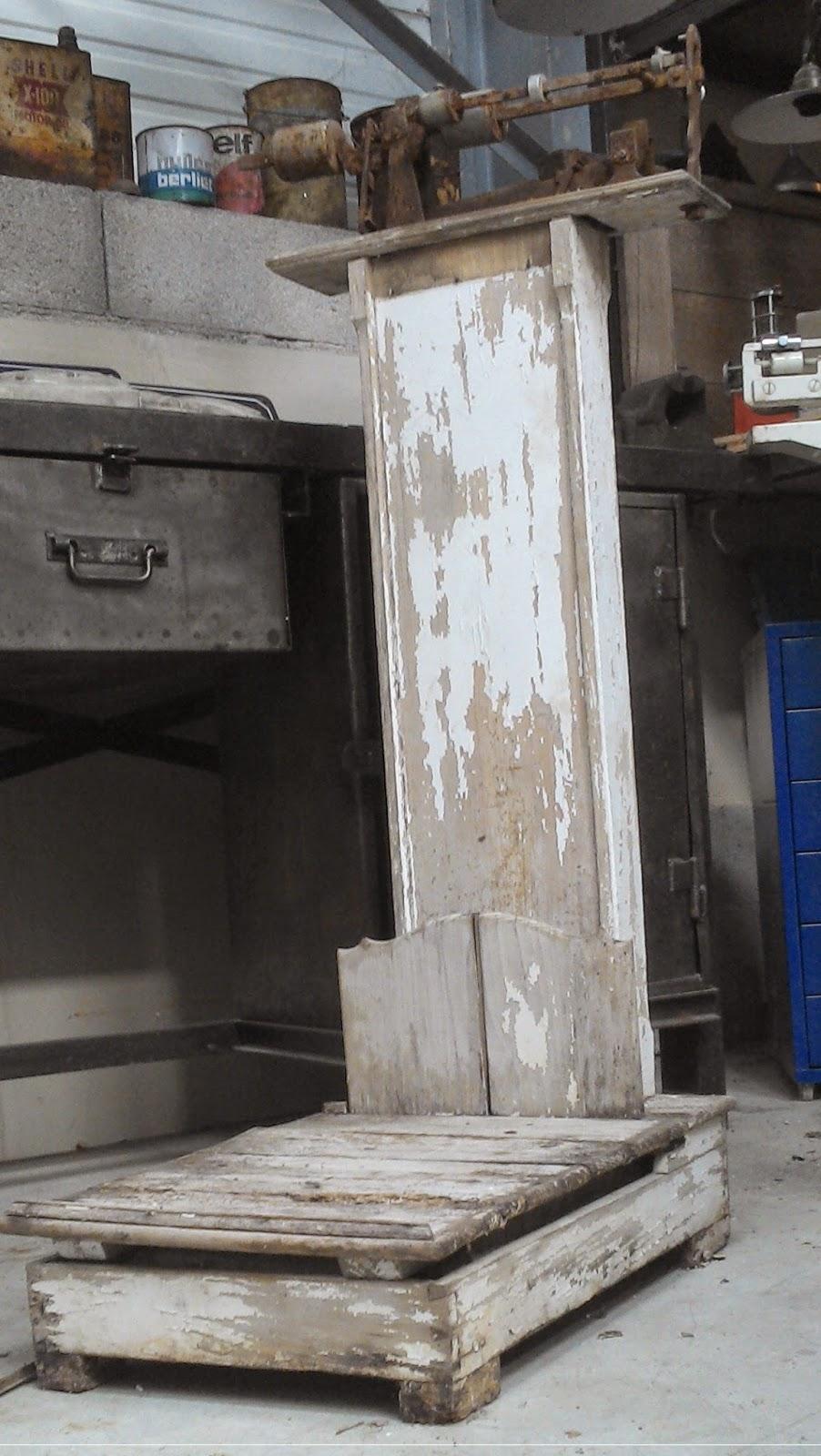 ancienne balance pharmacie XIXeme BOIS rare apothicaire