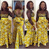 Beautiful Ankara Skirt And Blouse For African Woman
