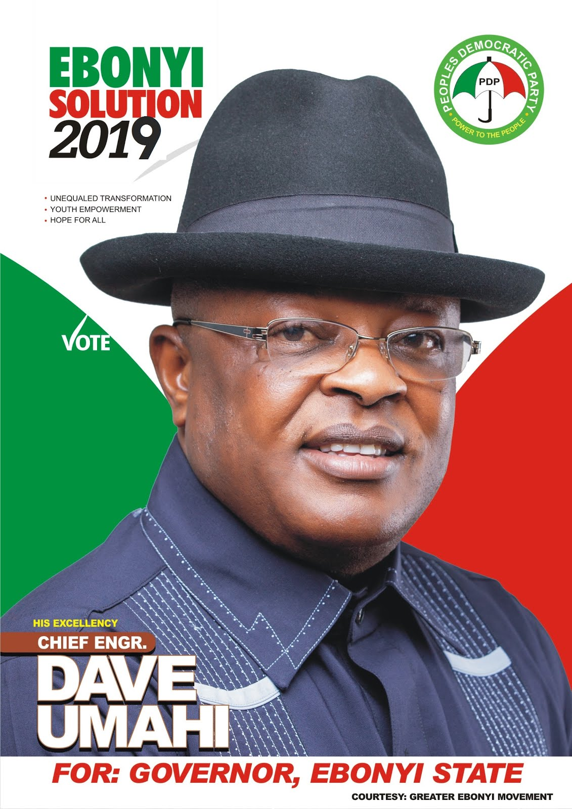Let make Ebonyi Greater!